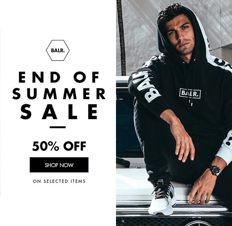 Balr sale +50% 2018